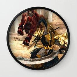 Knight - Beast Wall Clock