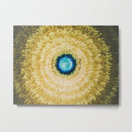 Moon and the eye Metal Print
