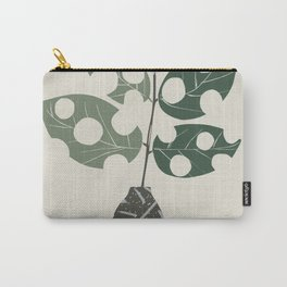 Scandinavian plant leaf Carry-All Pouch