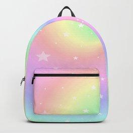 Rainbow Swirls and Stars Backpack
