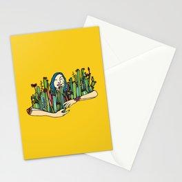 Hug a plant Stationery Cards
