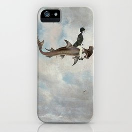 In search of new seas iPhone Case