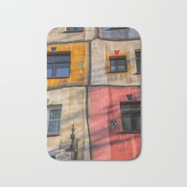 Hundertwasserhaus  Vienna Austria 2 building Bath Mat