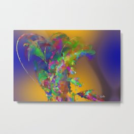 The creative smoker Metal Print