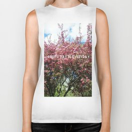 Earth Day is Everyday Biker Tank