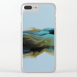 Ocean tides Clear iPhone Case