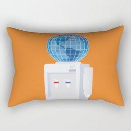 Let Anyone Take A Job Anywhere Rectangular Pillow