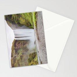 Skogafoss waterfall Stationery Cards