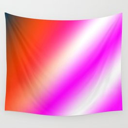 pink blue red abstract texture pattern Wall Tapestry