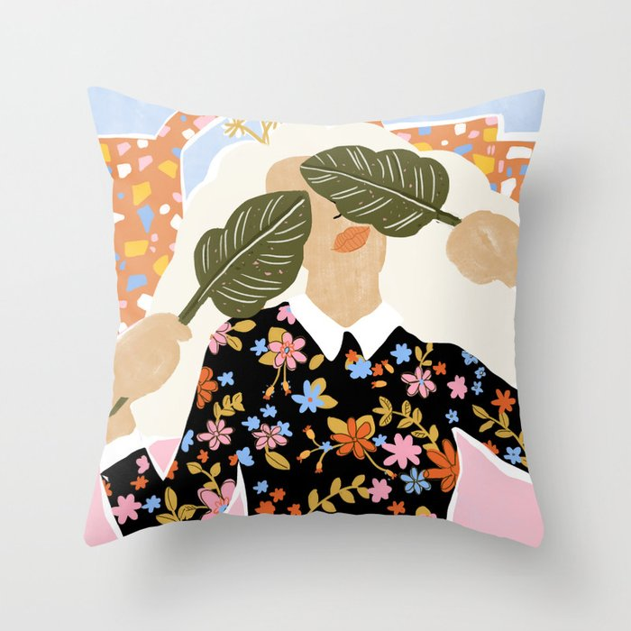 I Can't See You Throw Pillow