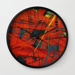 C13D Distressed Wall Clock
