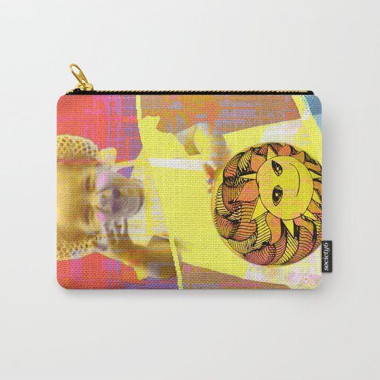 She plays with the sun / PRINCESS 23-07-16 Carry-All Pouch