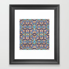 Too long mosaic Framed Art Print