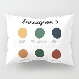 Enneagram 5 Pillow Sham