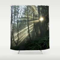 breaking Shower Curtains featuring Breaking Through by Lawson Images