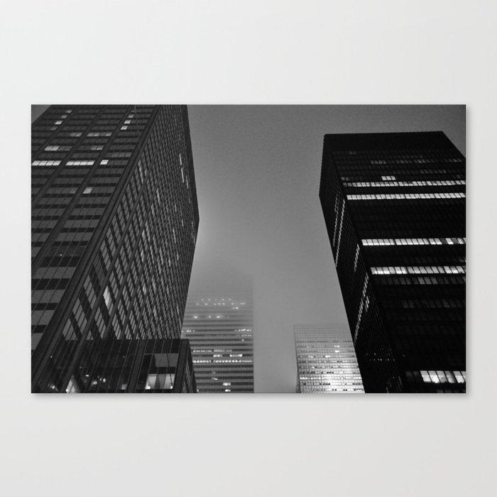 Midnight Noir Canvas Print