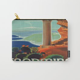 Vintage poster - Taormina Carry-All Pouch