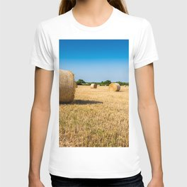 Hay bales in France T-shirt