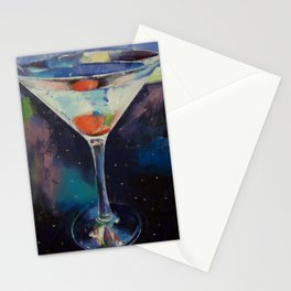 Bombay Sapphire Martini Stationery Cards