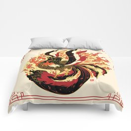 Year of the Fire Rooster Comforters