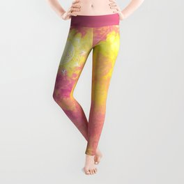 Flower Of Life (Batik 6) Leggings