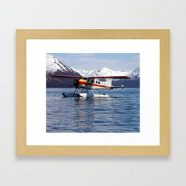 Beaver Float Plane Photography Print Framed Art Print