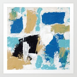 Abstract Expression #6 by Michael Moffa Art Print