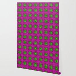 Abstract gradient circles japanese pattern. Wallpaper