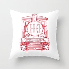 Blood H0 positive Throw Pillow