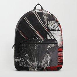 The Bleeding Heart of a Hooded Menace Backpack