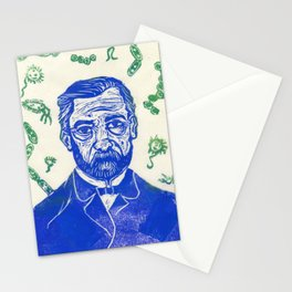 Louis Pasteur Stationery Cards