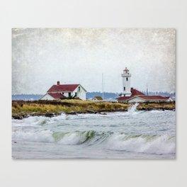 point wilson Canvas Print
