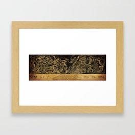 Alduin's Wall Framed Art Print
