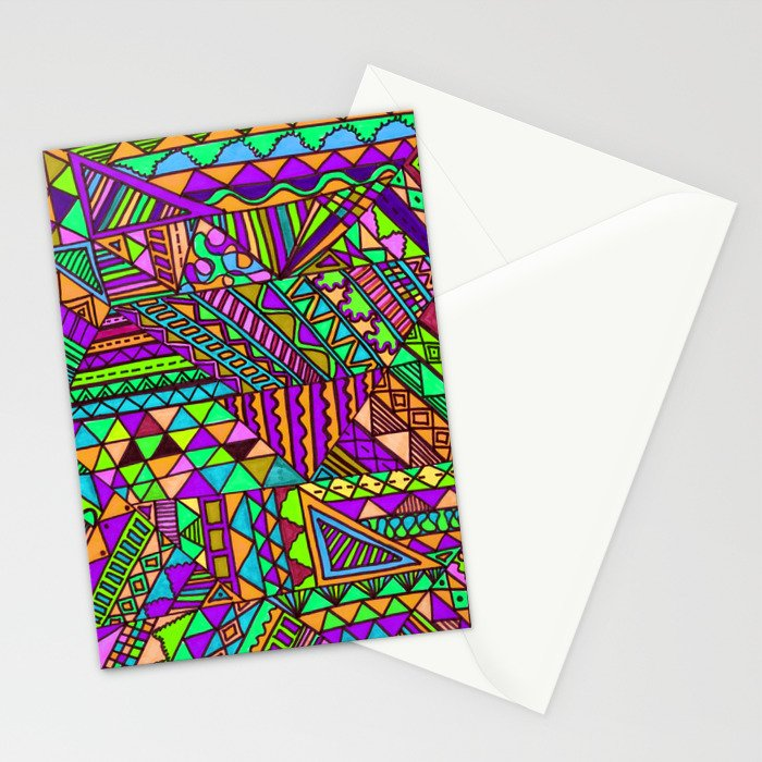 Wild One Three Stationery Cards