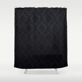 Black damask - Elegant and luxury design Shower Curtain