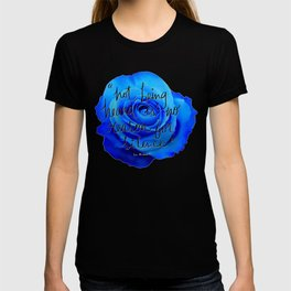 not being heard is no reason for silence T-shirt