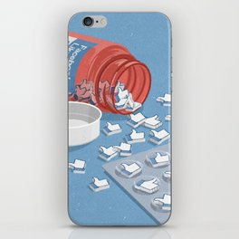 Likes pills iPhone Skin