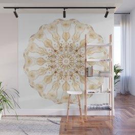 Gold Light Mandala - Boho Chic Energy Art Wall Mural