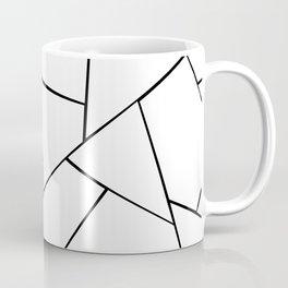 Black White Geometric Glam #1 #geo #decor #art #society6 Coffee Mug