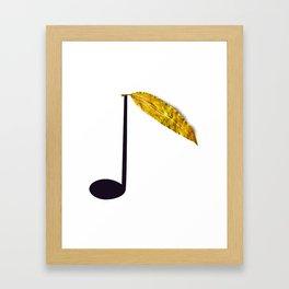 Natural Music Framed Art Print