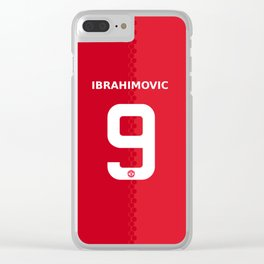 ibraimovic Clear iPhone Case