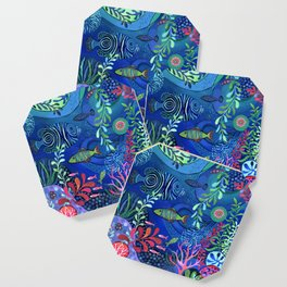 Botanical Sea Garden Coaster