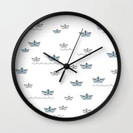 LittleBoats Wall Clock