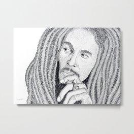 Marley - Word Art Metal Print