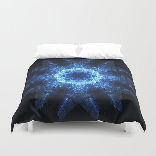 Snowflake Mandala Duvet Cover