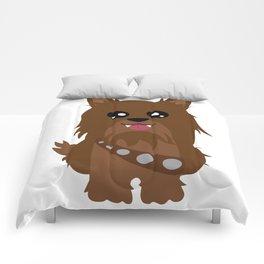 Chewbacca the Yorkie Comforters