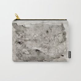 Abstract Painting Grayscape Carry-All Pouch