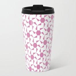 Damascus Motif Rose Palette Travel Mug