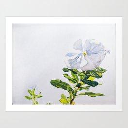 White Titan Art Print