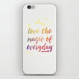 Magic of Everyday iPhone Skin
